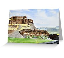 Farm in Moses Coulee Greeting Card