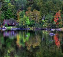 Reflection of Solitude by Lori Deiter