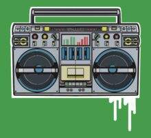 RADIO RAH: THE BOOMBOX by SOL  SKETCHES™