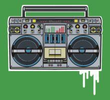 RADIO RAH: THE BOOMBOX Kids Clothes