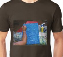 LANE #4 FILLING THE POOL WITH WATER Unisex T-Shirt