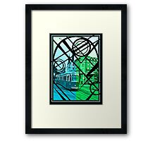 Electric Trolley Framed Print