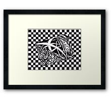 SKEWED PERCEPTION Framed Print
