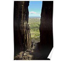 Tower cliffs of Solomon's Thrown Poster