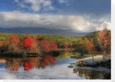 Final Destination - Mt. Katahdin by Lori Deiter