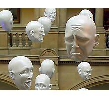 Hanging Heads Photographic Print