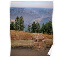 hells canyon overlook Poster