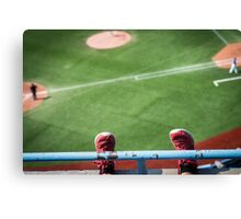 First Day in the Majors Canvas Print