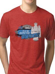 Blorgons - ERADICATE!!! Tri-blend T-Shirt