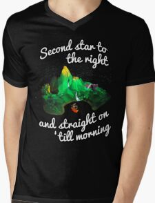 Neverland Mens V-Neck T-Shirt