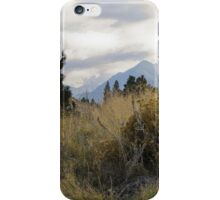 eagle cap landscape 2 iPhone Case/Skin
