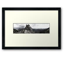 Moro Rock Framed Print
