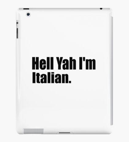 Italian iPad Case/Skin