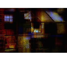 Urban Abstract Photographic Print