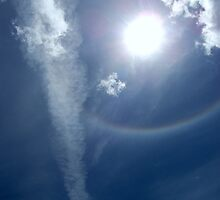 RAINBOW RING AROUND THE SUN by Diana Miller