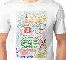 Red Collage Unisex T-Shirt