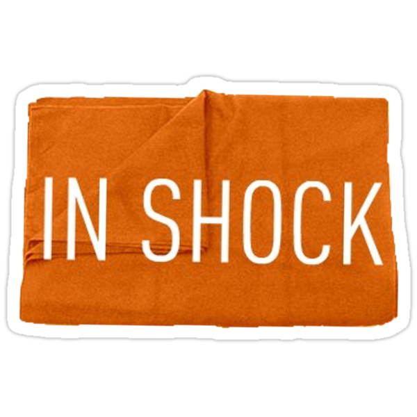 In shock by Margaret Wickless