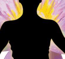 Yoga Lotus Pose - Meditation  Sticker