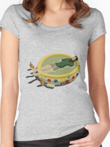 The Last Man on Earth - Margarita Pool Women's Fitted Scoop T-Shirt