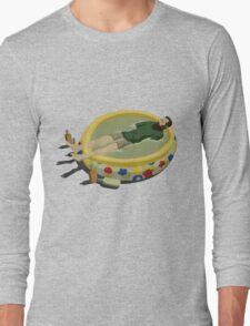 The Last Man on Earth - Margarita Pool Long Sleeve T-Shirt