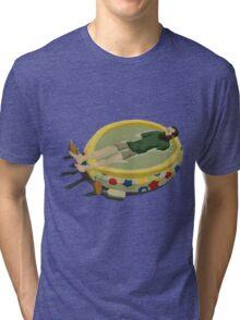 The Last Man on Earth - Margarita Pool Tri-blend T-Shirt