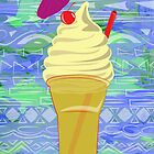 Drink Dole Whip Float POSTER by Rechenmacher