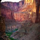 Marble Canyon Cliffs by Inge Johnsson