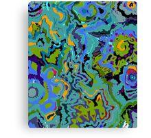OIL SPILL 1 Canvas Print