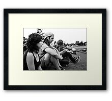 These Times Are Hard Framed Print