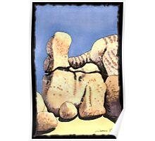 c9-Boulder Shapes Poster