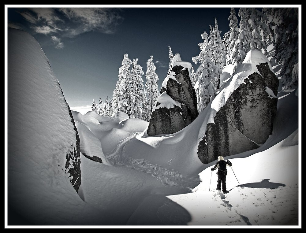 Winter in the Cascades by beauramsey