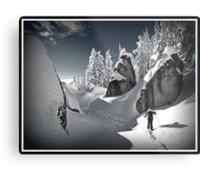 Winter in the Cascades Metal Print