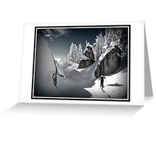 Winter in the Cascades Greeting Card