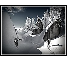 Winter in the Cascades Photographic Print