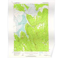 USGS Topo Map Oregon Klamath Marsh 282633 1957 62500 Poster