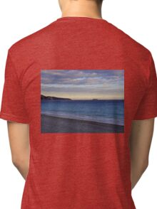 Cote d'Azur Coastline at Dusk  Tri-blend T-Shirt