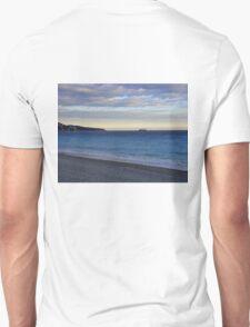 Cote d'Azur Coastline at Dusk  Unisex T-Shirt