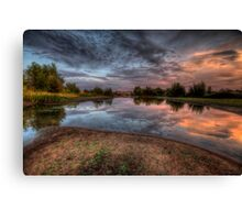 Mirror Bend Canvas Print
