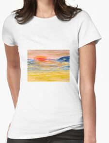 'Sea light' Womens Fitted T-Shirt