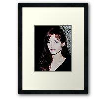 Mia 2 Framed Print