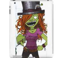 Zombie Gamer Girl iPad Case/Skin
