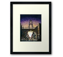 Eastgate Clock - Chester Framed Print