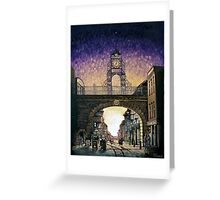 Eastgate Clock - Chester Greeting Card