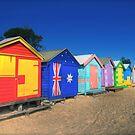 Brighton Beach, Victoria Australia. by LJ_©BlaKbird Photography