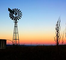 Country windmill by Zephyrus