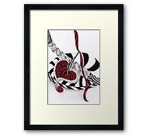 Painful Beauty Framed Print