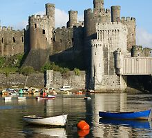 Conwy castle North Wales by graceloves
