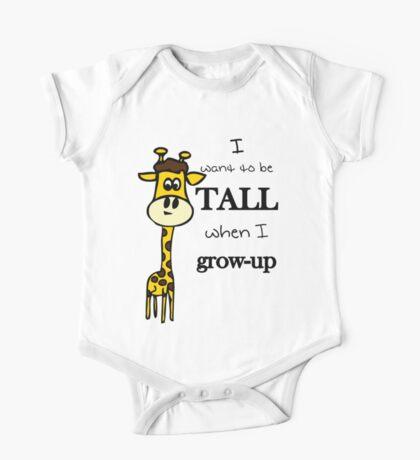 I wann be tall Kids Clothes