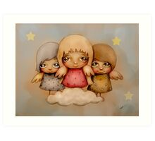 angel dust Art Print