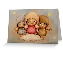 angel dust Greeting Card